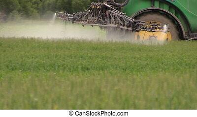 pesticide, sray, tracteur
