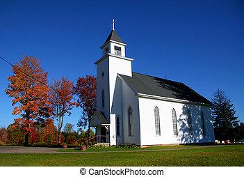 petit, église