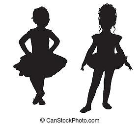 petit, ballerines