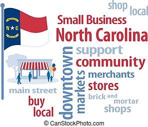 petit, caroline, drapeau, nord, business
