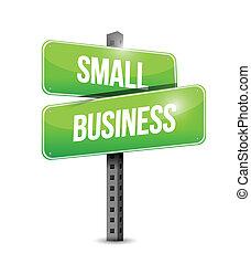 petit, conception, illustration affaires