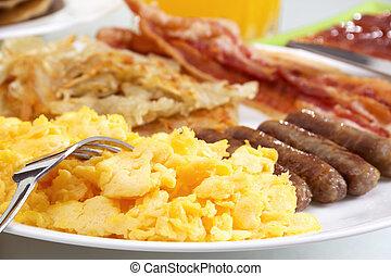 petit déjeuner, chaleureux