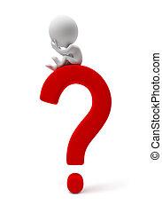 petit, people-question, 3d