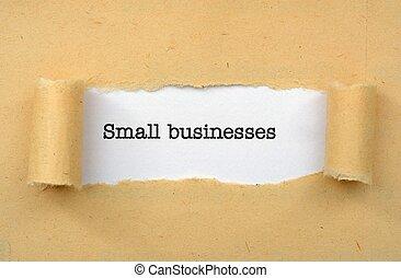petite entreprise
