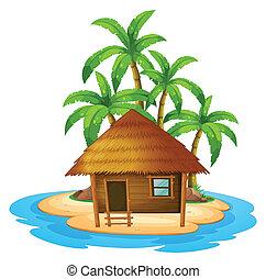 petite maison, île