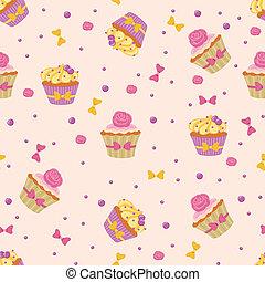 petits gâteaux, seamless