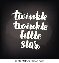 peu, étoile, scintillement