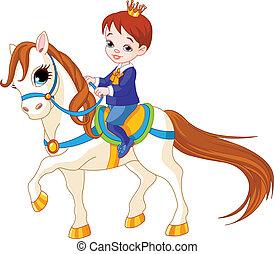 peu, prince, cheval