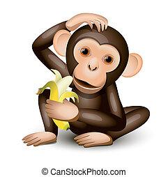 peu, singe