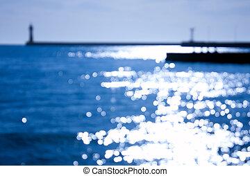 phare, mer