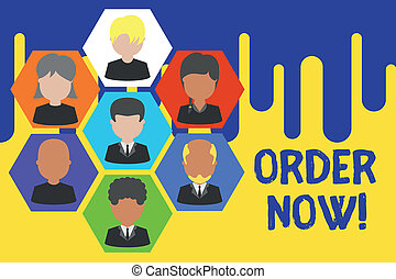 photo, cadre, signe, autre, cadres, vendre, now., images, texte, conceptuel, fête, achat, projection, confirmed, une, structure., staff., employés, demande, chef, organisation, ordre