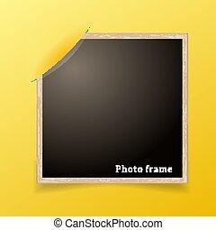 photo, frame., conception, decoretive, template., grunge, frontière