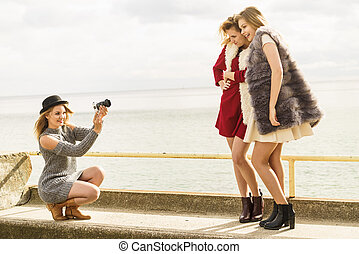 photo, modèles, mode tire