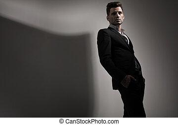 photo, style, mode, jeune homme