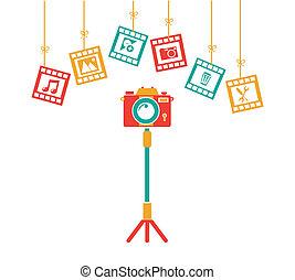 photographie, conception