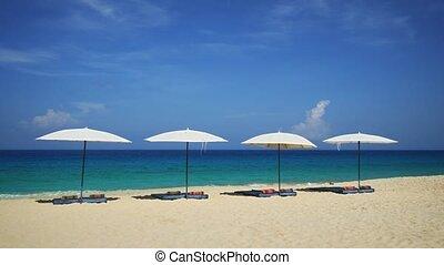 phuket, eaux, exotique, bleu, surin, plage, clair, thaïlande