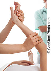 physiothérapie, clinique