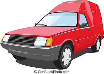 pick-up, rouges