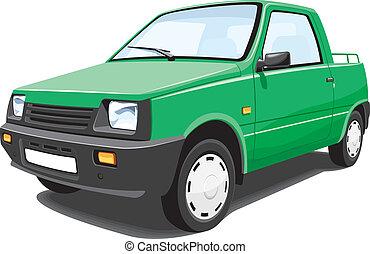 pick-up, vert