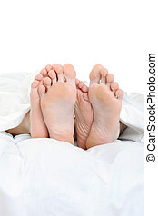 pieds, gros plan