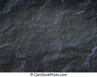 pierre, arrière-plan noir