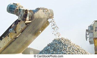 pierre, broyeur, fonctionnement, mécanisme