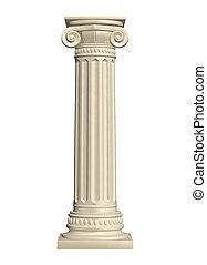pierre, colonne