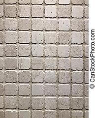 pierre, gris, decoration., détail, texture, wall., rouillé