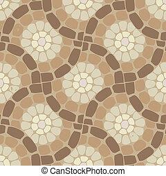 pierre, modèle, plancher, vecteur, fond, carreau, mosaïque