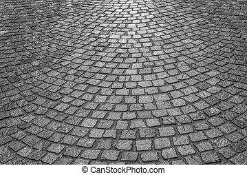 pierre, pavers., pavage, texture