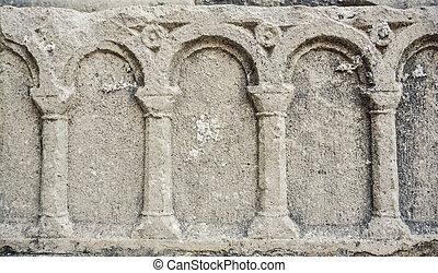pierre, résumé, texture, wall.