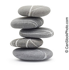 pierres, équilibrage