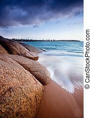 pierres plage