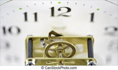 pignon horloge