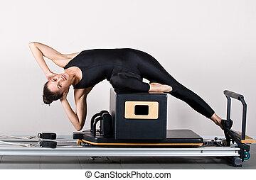 pilates, gymnastique