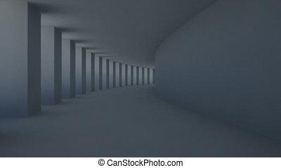 pilier, couloir