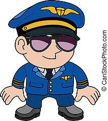 pilote, illustration