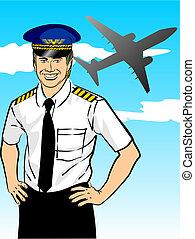 pilote ligne aérienne