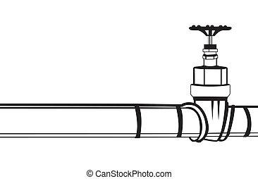 pipeline, industriel