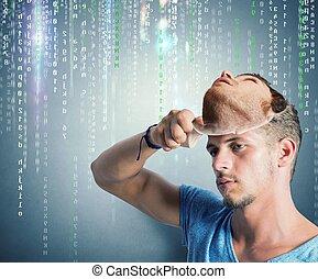 pirate informatique, identité cachée