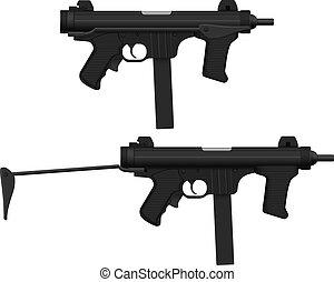 pistolet machine