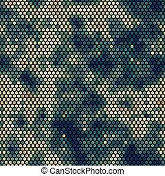 pixel, pattern., urbain, modèle, premier plan, camouflage, seamless