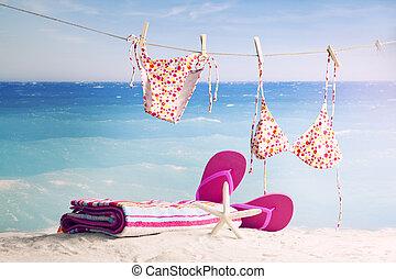 plage, accessoires
