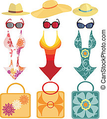 plage, collection