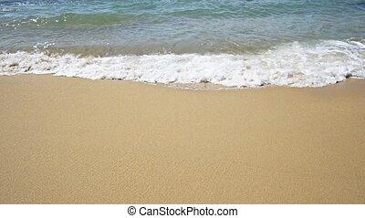 plage, doux, paradis, exotique, ondes sonores, thaïlande