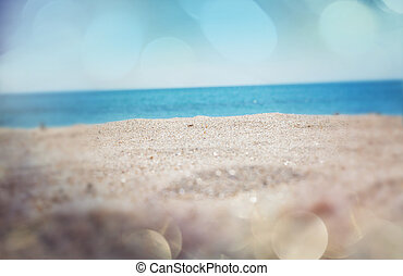 plage, fond
