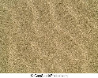 plage, résumé, fond, sable, ondulations