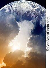planète, ciel