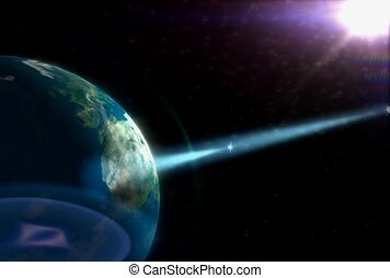 planète, espace extérieur, technologie
