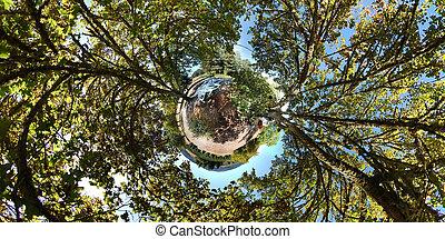 planète, peu, 360